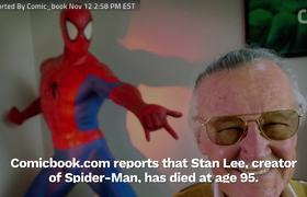 Remembering Stan Lee's 'Marvel's Spider-Man' Cameo