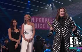 Melissa McCarthy Speaks Her Mind While Accepting Icon Award | E! People's Choice Awards 2018