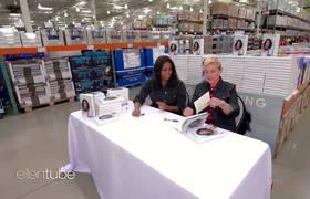 Ellen & Michelle Obama Go to Costco