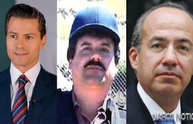 El Chapo Guzman Soborno con millones a Calderon y EPN