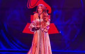 Abuchean a Thalia en los Latin Grammy 2018 por culpa de Luis Miguel