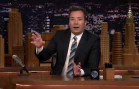 Jimmy Announces Tonight Show Challenges: #SharpieChallenge