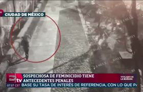 Momento en que dejan cuerpo de adolescente en una maleta en Tlatelolco