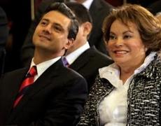 Peña Nieto y Elba Esther Gordillo fueron a la MIsma Escuela Video