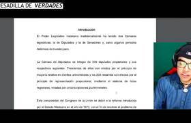 Morena destroza al PRI van a reducir 100 diputados plurinominales