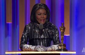 Cicely Tyson receives an Honorary Award at the #2018GovernorsAwards