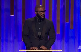 Tyler Perry honors Cicely Tyson at the #2018GovernorsAwards
