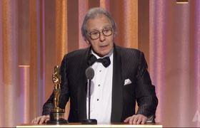 Lalo Schifrin receives an Honorary Award at the #2018GovernorsAwards