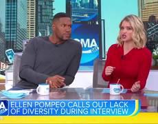 Ellen Pompeo's drop the mic interview moment