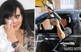 Grupo armado amenaza de muerte a Maribel Guardia