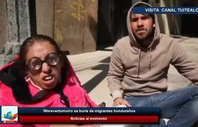 Werevertumorro se burla de migrantes hondureños y causa indignación