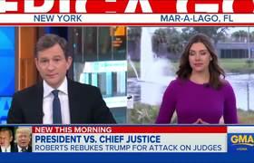 Supreme Court justice fires back at Trump for 'Obama judge' comment