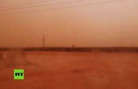 El cielo de Australia se vuelve naranja por tormmenta de polvo