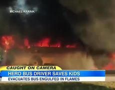 Florida Bus Driver Saves Nearly 40 Children