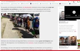 Terrible represión de indígenas en #Chiapas