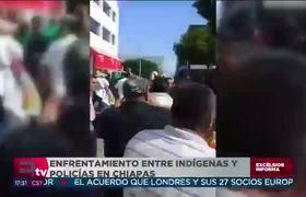 Terrible enfrentamiento entre indígenas y policías en #Chiapas
