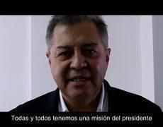 Martínez Veloz envía mensaje de AMLO