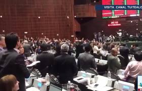#Diputados desechan parte de reforma sobre fuero