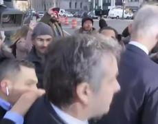 Michael Cohen, exabogado del presidente Trump, se presenta en corte en Nueva York