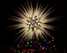 Sprucing up NYC: Rockefeller Center lights Christmas tree