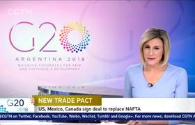 U.S. , Mexico, Canada sign new trade deal replacing old NAFTA