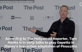 Tom Hanks In Talks To Play Gepetto