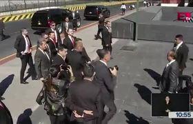 Peña Nieto arriba a San Lázaro para toma de protesta de #AMLO