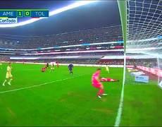 América (5) 3-2 (4) Toluca | RESUMEN - Todos goles Liguilla - 4tos Vuelta | Liga MX | AP2018