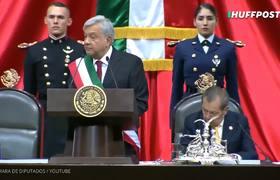 Mejores frases de #AMLO al tomar posesión como presidente de México