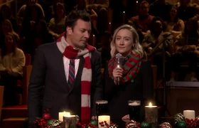 Saoirse Ronan and Jimmy Sing