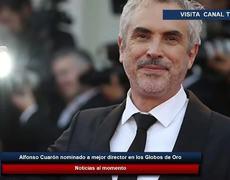 Alfonso Cuarón nominado a mejor director en los Globos de Oro 2019