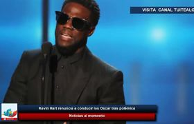 Kevin Hart renuncia a conducir los Oscar tras polémica