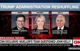 Mueller's team questioned John Kelly, sources say