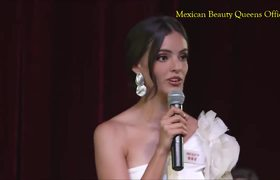Vanessa Ponce de León wins the face to face challenge and is TOP 30 at MISS MUNDO 2018