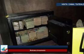 Decomisan armas y 100 mil dólares en la frontera de Guatemala con México