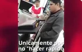 Agrede a abuelita en Hermosillo por ser lenta
