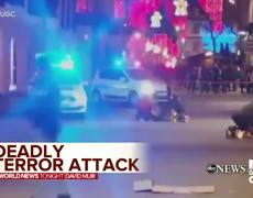 Deadly terror attack at a French Christmas market