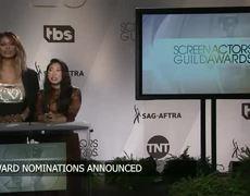 SAG Award nominees announced