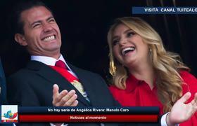 Manolo Caro :No hay serie de Angélica Rivera 'no voy a enaltecer a gente que ha dañado a mi país'