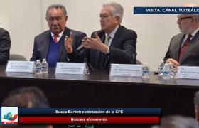 Busca Bartlett optimización de la CFE