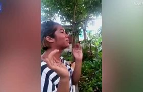 Mosquito whisperer' demonstrates his unusual killing method