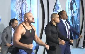 #JasonMomoa Performs Haka at 'Aquaman' Premiere