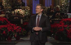 Matt Damon Monologue #SNL