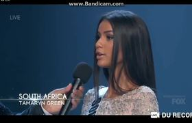 Miss Universe 2018 - Top 20 Announcement (Asia Pacific + Africa)