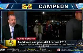AMERICA CAMPEON 2018 - CULPAN A CAIXINHA DE LA DERROTA POR IMPROVISAR
