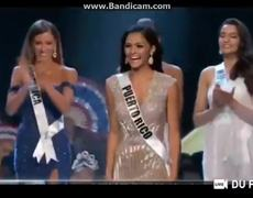 Miss Universe 2018 - Top 5 Announcement