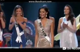 Miss Universe 2018 - Top 5 Announcement