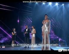 Miss Universe 2018 - Top 5 Questions and Answers