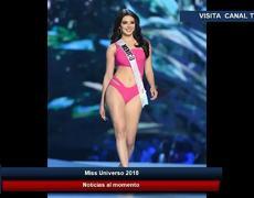Andrea Toscano Miss México queda eliminada de Miss Universo 2018