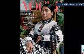 Yalitza Aparicio en la portada de Vogue se vuelve viral